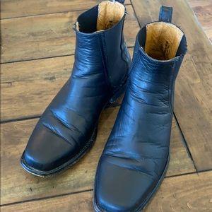 Men's Frye Black Boots Size 8